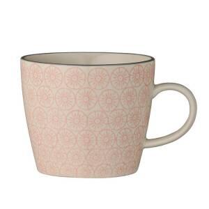 bloomingville cecile tasse mit henkel rosa isabella 7 90. Black Bedroom Furniture Sets. Home Design Ideas