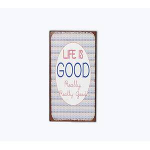 Lafinesse Denmark Magnet-Schild Life is GOOD - Really Really Good