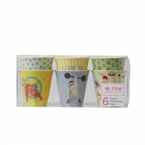 Rice Melamin Becher Small Boy Circus
