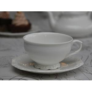 Chic Antique Teetasse mit Unterteller Provence