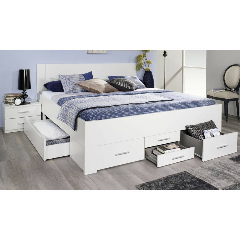 rauch bett mit 6 schubk sten isotta 3 gr en 349 99. Black Bedroom Furniture Sets. Home Design Ideas