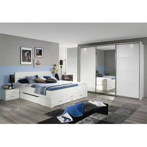 rauch bett mit 6 schubk sten isotta 3 gr szli. Black Bedroom Furniture Sets. Home Design Ideas