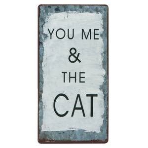 Ib Laursen Magnet-Schild YOU ME & THE CAT