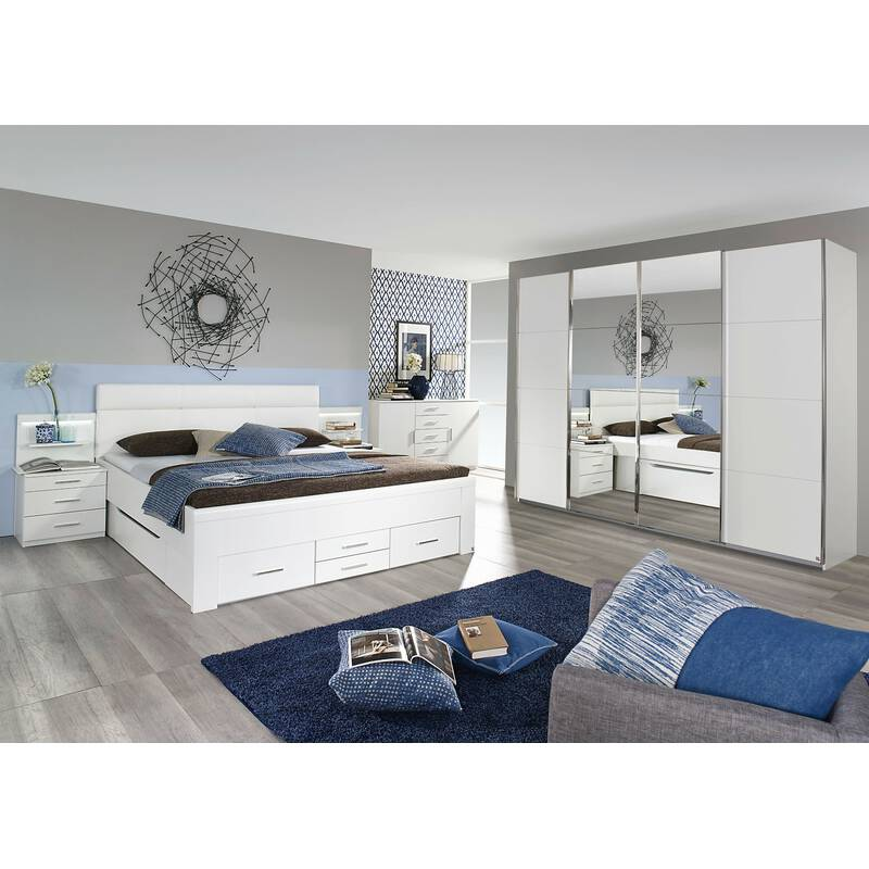 rauch schlafzimmer komplettangebot mit synchron schwebet renschrank u. Black Bedroom Furniture Sets. Home Design Ideas