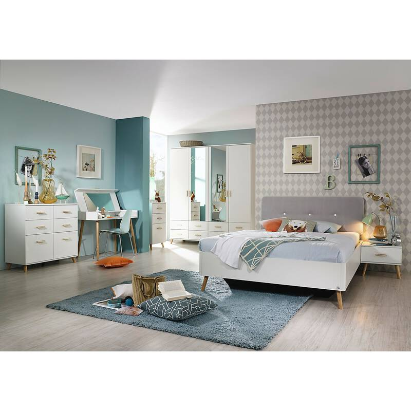 rauch schminktisch mit spiegel annett alpinwei esche coimbra 249 99. Black Bedroom Furniture Sets. Home Design Ideas
