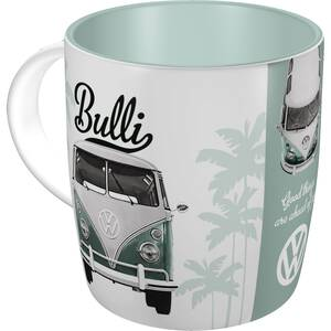 Nostalgic Art Tasse mit Henkel VW -  Good things are...