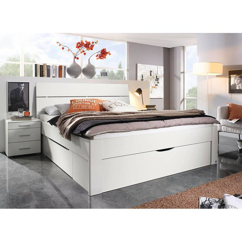 rauch bett scala mit 3 schubk sten in komforth he. Black Bedroom Furniture Sets. Home Design Ideas