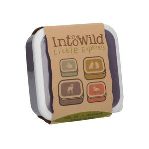 Creative Tops Into the Wild Little Explorer Snackdosen 4er-Set