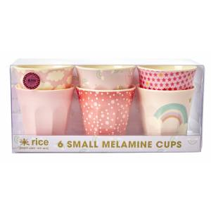 Rice Melamin Becher Rainbow Prints Small