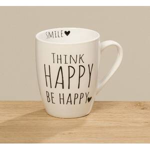 Bloominghome Tasse mit Henkel Homey 350ml THINK HAPPY BE...