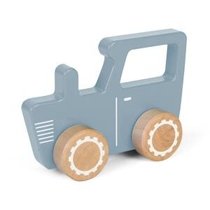 Little Dutch Holz Traktor blau