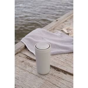 Stelton To Go Click Thermobecher 0,4 l hellgrau