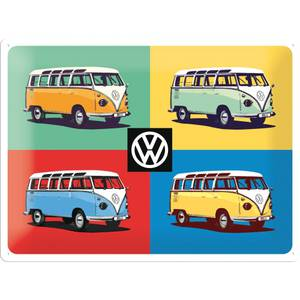 Nostalgic Art Blechschild VW Bulli - Pop Art 30 x 40 cm