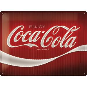 Nostalgic Art Blechschild Coca-Cola - Logo Red Lights 30...
