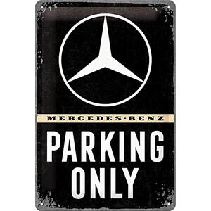 Nostalgic Art Blechschild Mercedes Benz - Parking Only 20...