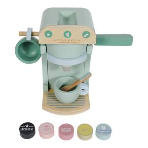 Little Dutch Kaffeemaschine aus Holz 10-teilig - mint