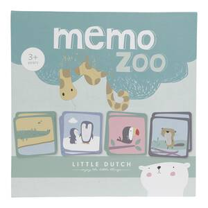 Little Dutch Memo-Spiel Zoo