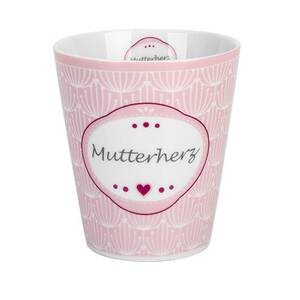 Krasilnikoff Happy Mug Becher Mutterherz