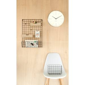 present time Memo Regal Grid schwarz