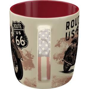 Nostalgic Art Tasse mit Henkel Route 66 - Bike Map