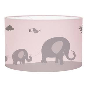 Little Dutch Hängelampe rund Silhouette - Zoo pink Ø 30 cm