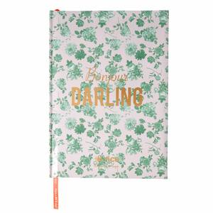 Rice Notizbuch A4 Green Rose