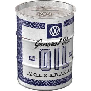 Nostalgic Art Spardose Ölfass VW - General Use Oil