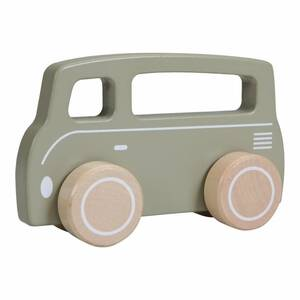 Little Dutch Holz Bus olive