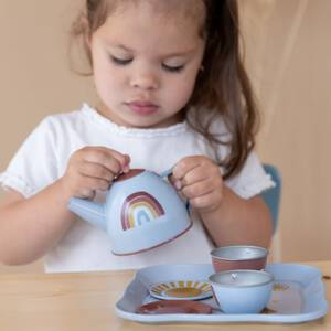 Little Dutch Tee-Set im Koffer Rainbow