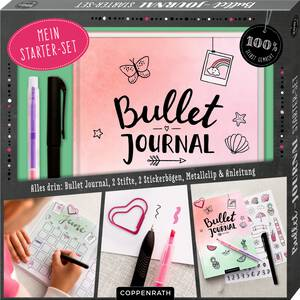 Coppenrath Mein Bullet-Journal Starter-Set (100 % selbst...