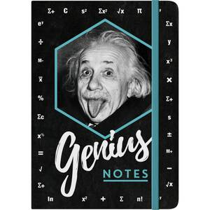Nostalgic Art Notizblock A5 Einstein - Genius Notes