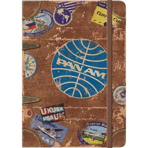 Nostalgic Art Notizblock A5 Pan Am - Travel Stickers