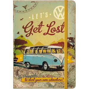 Nostalgic Art Notizblock A5 VW Bulli - Let´s Get Lost
