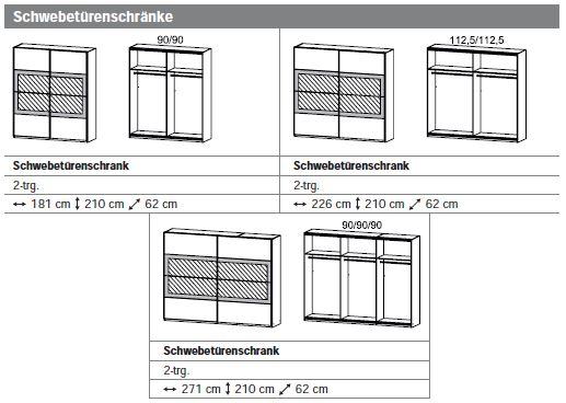 Schwebet renschrank innenausstattung for Schrank quadra montageanleitung