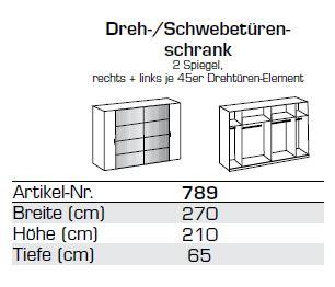 wimex dreh schwebet renschrank lotto 2 spiegel 271. Black Bedroom Furniture Sets. Home Design Ideas